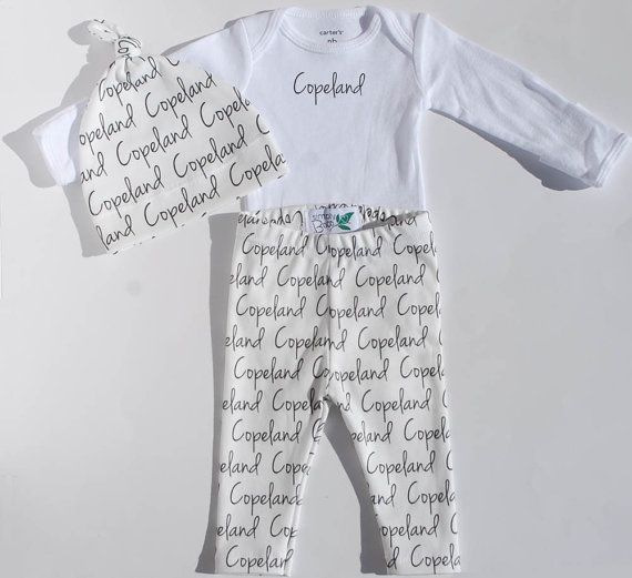 cd6522911fb Personalized Baby Blanket and Coming Home Outfit - Baby girl or baby boy -  Swaddle blanket