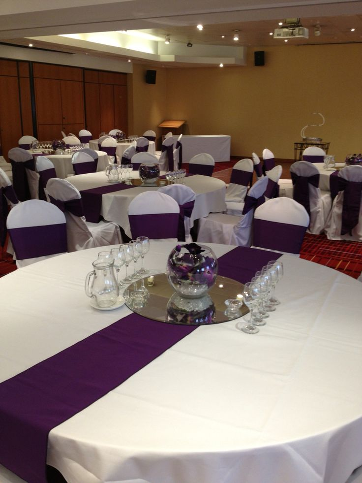 Simple purple party