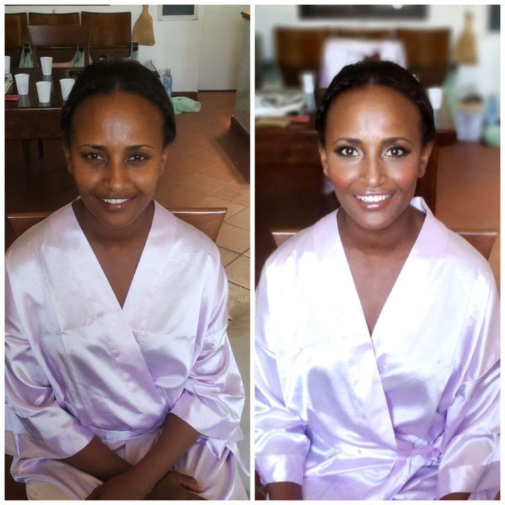 African american hair and makeup in Rome italy europe by Janita www.janitahelova.com