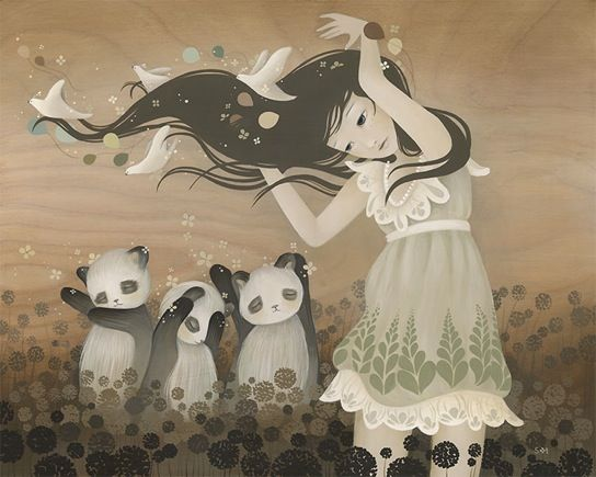 I love Amy Sol's art!