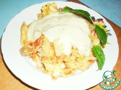 Сырный соус к макаронам - кулинарный рецепт