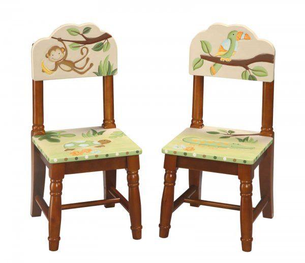 "Papagayo Kids Chairs - Set of 2 (Multi) (25""H x 12.5""W x 12.5""D)"