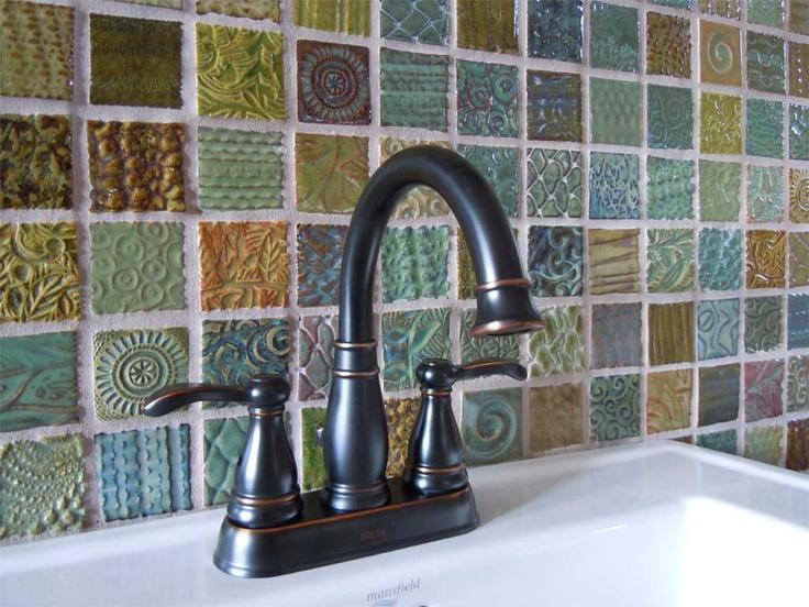 Beautiful handmade tile.