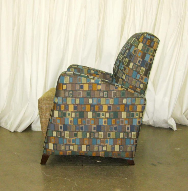 155C Stanton club chair by Campbell Contract