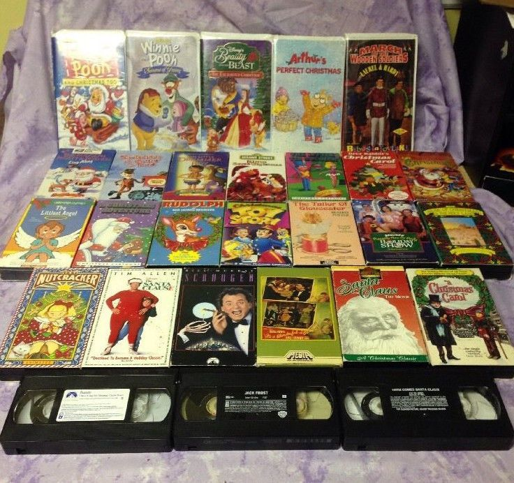 360 Best Treasure Trove Of Old School Vhs Cassette Tapes