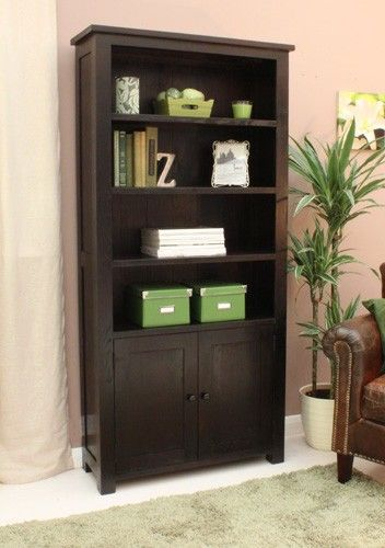 Kudos Large Bookcase with Cupboard