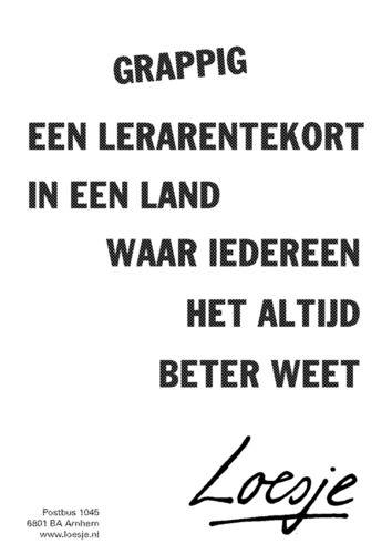 loesje.nl - Maandseries | Loesje
