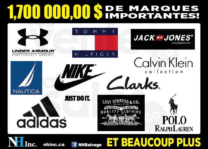 Liquidation Nike, Tommy Hilfiger, Clarks | lesventes.ca