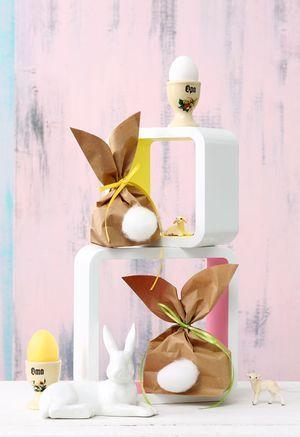 Hasen-Tüten für Ostergeschenke