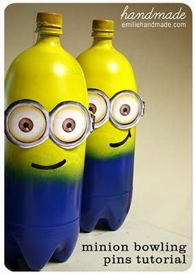 Minion Bowling: instructions and free printable.
