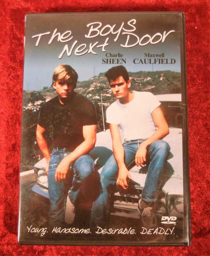 The Boys Next Door 1985 Movie (DVD, 2001) Charlie Sheen Penelope Spheeris