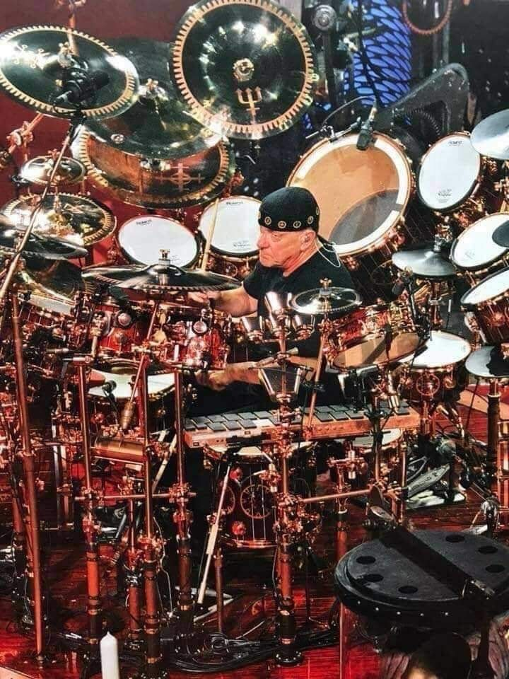 Pin By Alan Braswell On Drums Drums Drum Kits Neil Peart