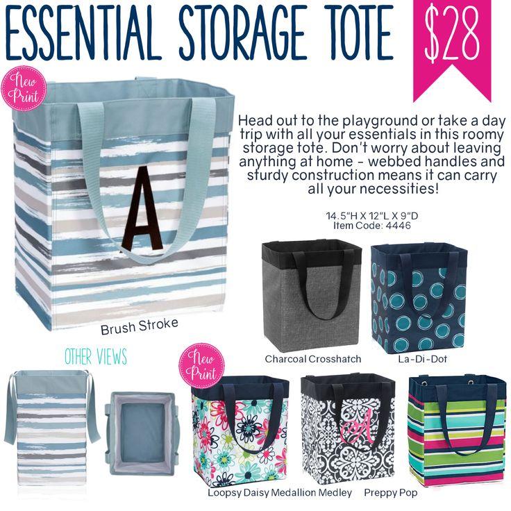 Thirty-One Essential Storage Tote - Spring/Summer 2017