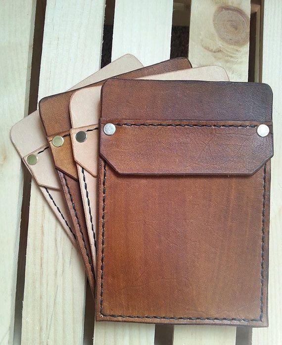 Handmade Leather Pocket Protector by JamesonLeatherworks on Etsy