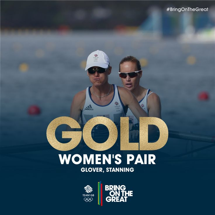 Helen Glover and Heather Stanning won gold in the women's pair rowing