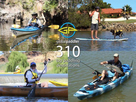 310 top paddling destinations