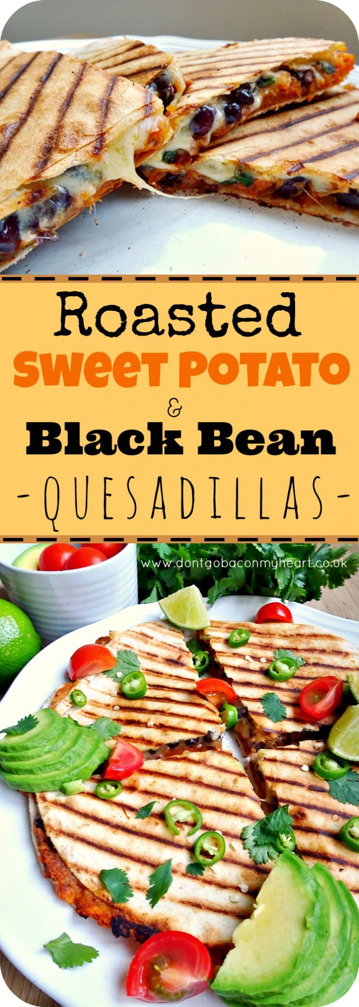The best vegetarian Quesadillas you'll ever make. So easy, super quick and most importantly really delicious and filling. Easy to adapt to vegan.