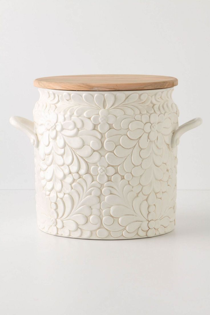 Anthropologie // Bread Bin or Cookie Jar // for kitchen