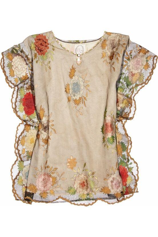 Beautiful bohemian fashion blouse.