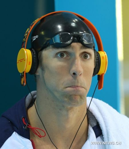 Michael Phelps-Olympics 2012-Swimming