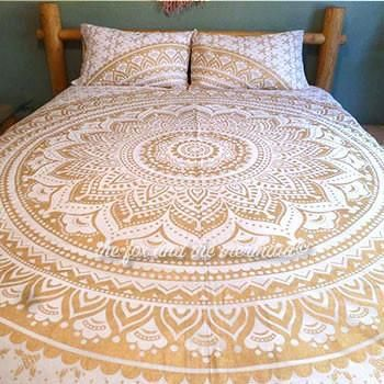 The Gaia Tapestry Bedding - The Fox and The Mermaid - 1