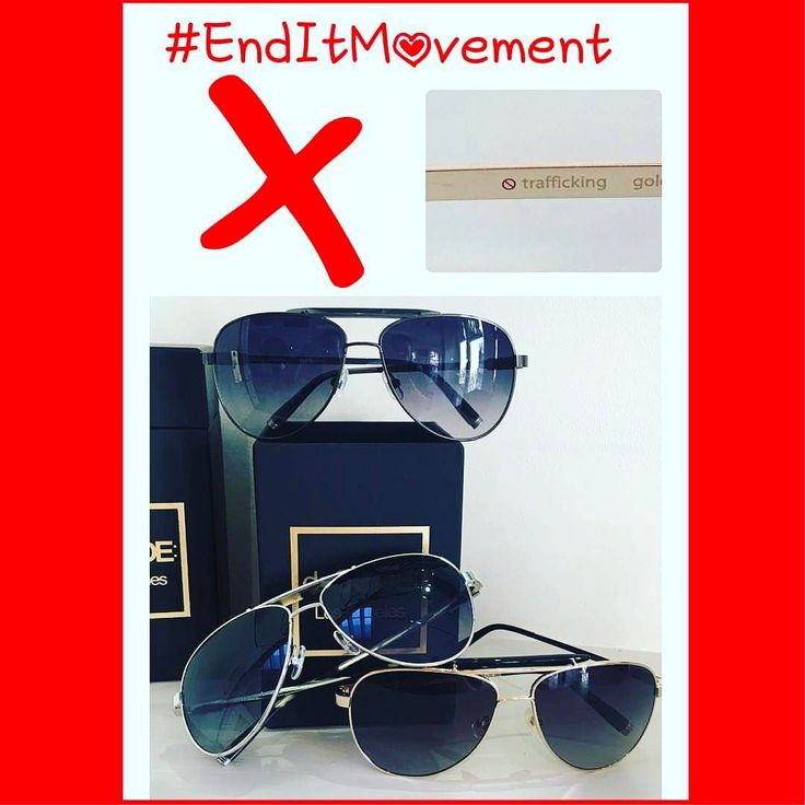 #EndItMovement Say it with your #eyewear #Trafficking frame #SamaEyewear supports the cause #EndSlaveryAct . . . #NoTrafficking #NoHumanTrafficking #AbolishSlavery #AshtonKutcher @aplusk