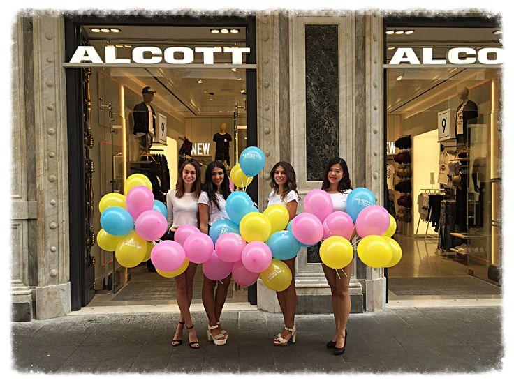 Organizzazione eventi Roma per nuovo punto vendita Alcott