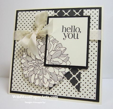 Regarding Modern Dahlias MOJO299 by RaeInReno - Cards and Paper Crafts at Splitcoaststampers