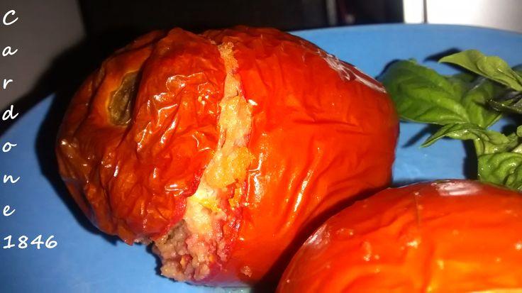 pomodori ripieni cotti al forno