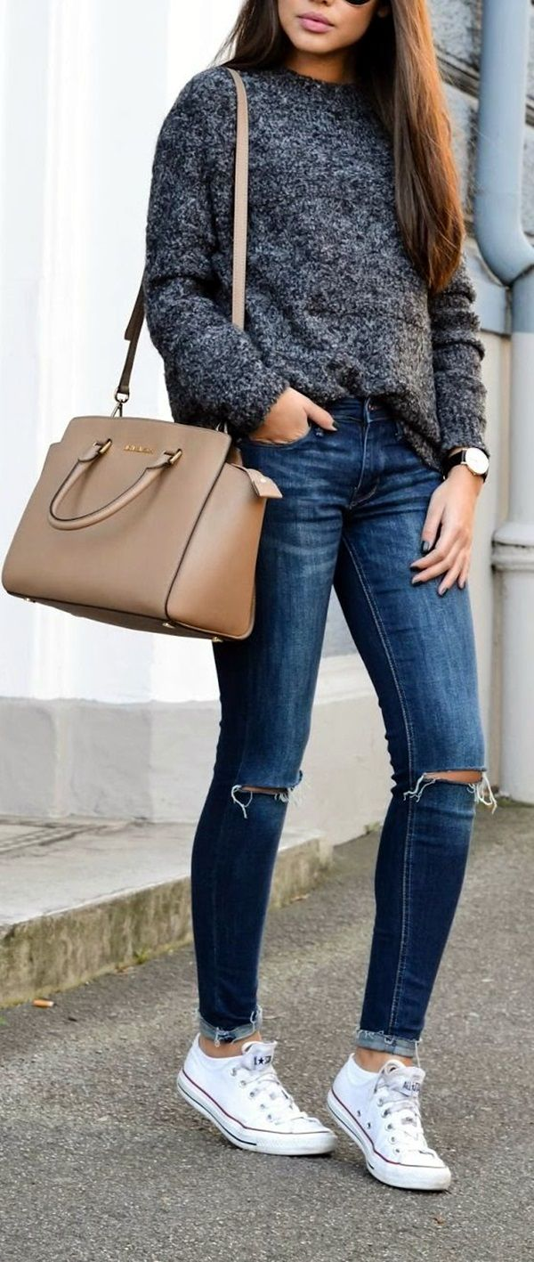Best 25+ Casual fall outfits ideas on Pinterest | Fall outfits ...