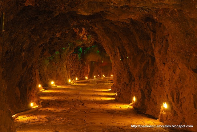 Mina del Edén, Zacatecas, México. I still have to go party here one day. Beautiful mine, also largest underground night club.