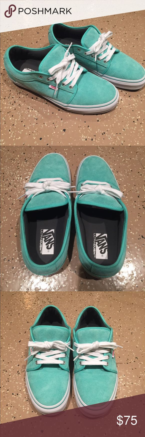BRAND NEW Teal Vans Chukka Low's Size 10.5 Brand New w/o tags LIMITED EDITION Teal vans chukka lows! Size M10.5 Vans Shoes Sneakers