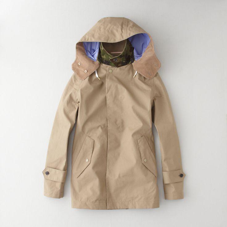 Nanamica Soutien Collar Coat | Men's Outerwear | Steven Alan