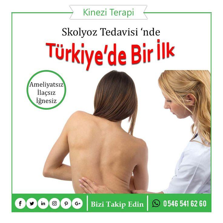 Skolyoz Tedavisi'nde Türkiye de bir ilk. Rus uzmanların geliştirdiği ve Türkiye'de bir ilk olan Kinezi Terapi ile Skolyoz Tedavisi için iletişime geçiniz.