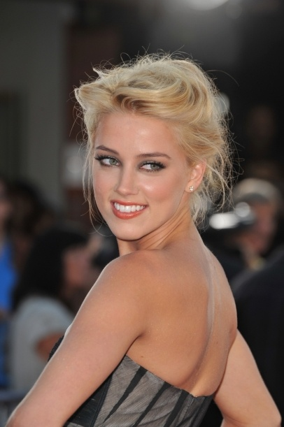 Amber Heard #beauty #makeup #celebrity