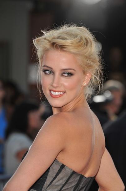 Amber Heard #beauty #makeup #celebrity