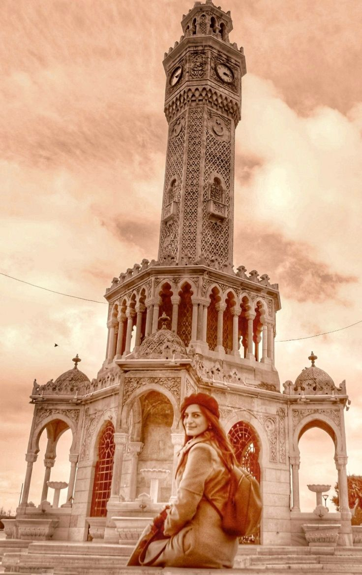 #izmir #saat kulesi