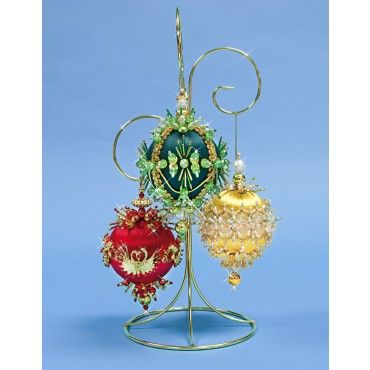 104 best Beaded Christmas Ball Ornaments images on Pinterest