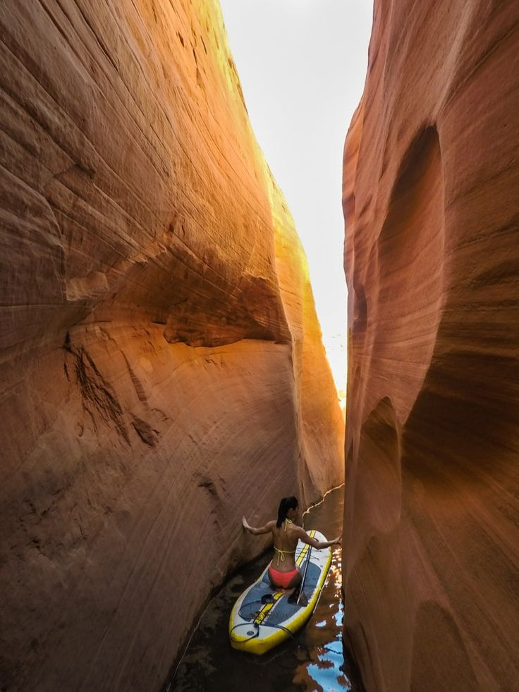 Labyrinth Slot Canyon — Lake Powell, UT — Backcountrycow