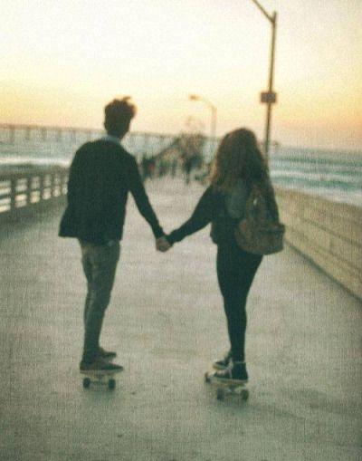 skater couple | Tumblr
