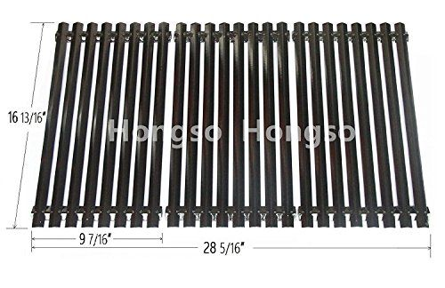 Hongso PCZ193 Porcelain Steel Channel Cooking Grid Replacement for Gas Grill Model Charbroil 463440109, Sold as a set of 3; aftermarket replacements #Hongso #Porcelain #Steel #Channel #Cooking #Grid #Replacement #Grill #Model #Charbroil #Sold #aftermarket #replacements