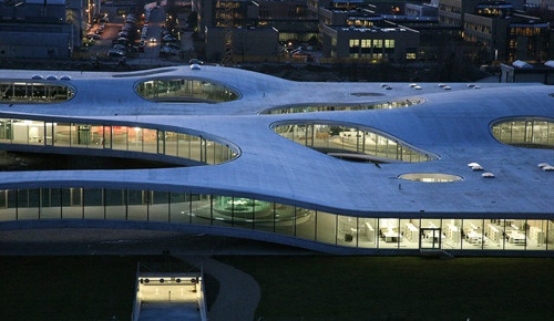 LAUSANNE Rolex Learning Center by SANAA