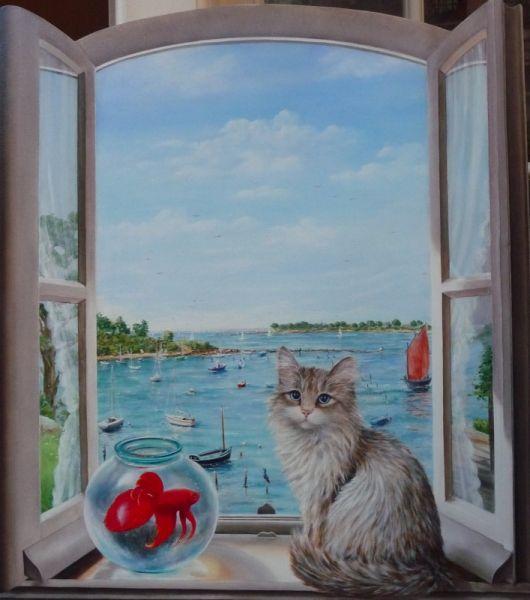 les 12 meilleures images du tableau peinture sur verre sur pinterest broderie peinture sur. Black Bedroom Furniture Sets. Home Design Ideas