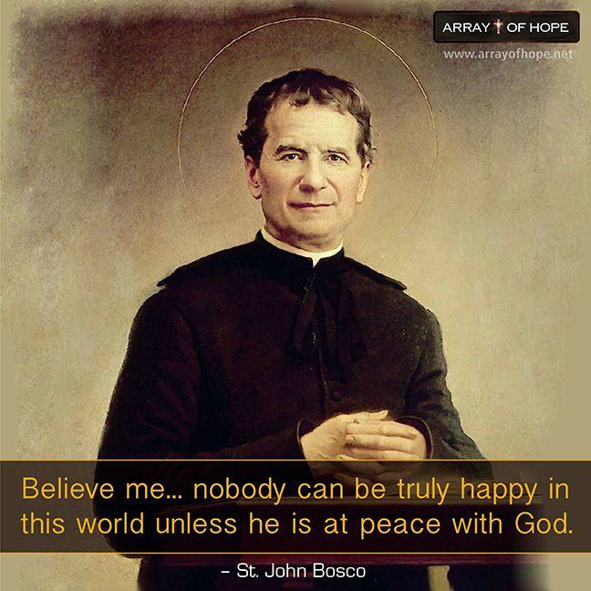 Happy Feast Day of St. John Bosco! Jan. 31  Let us always imitate the joy, faithfulness, and zeal for youth that Don Bosco lived so beautifully.
