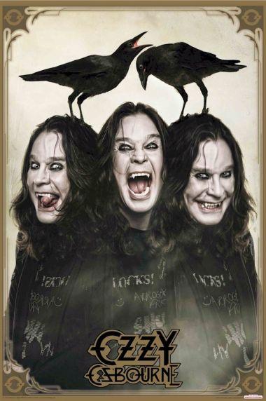 Ozzy Osbourne - Crows - plakat
