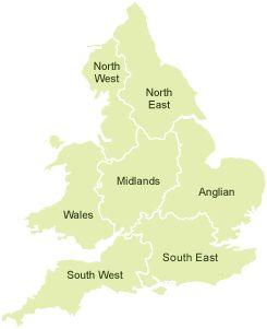 Flood Warning Area Map
