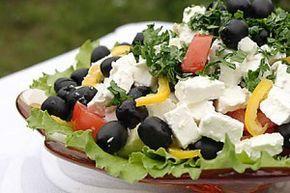 Греческий салат - Рецепты. Кулинарные рецепты блюд с фото - рецепты салатов, первые и вторые блюда, рецепты выпечки, десерты и закуски - IVONA - bigmir)net - IVONA bigmir)net
