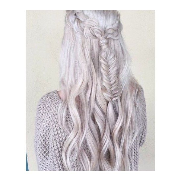 The Best Braids for Long Hair Boss Babes ❤ liked on Polyvore featuring hair
