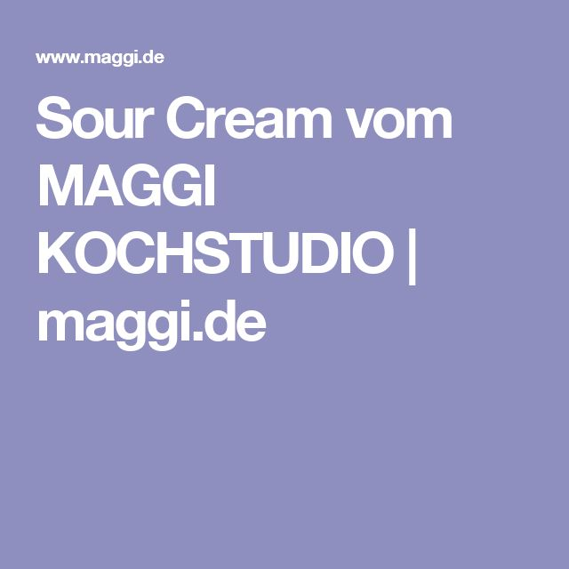 The 25+ best Maggi kochstudio ideas on Pinterest | Kochstudio ... | {Maggi kochstudio 14}