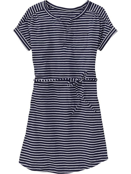 Old Navy | Girls Dolman-Sleeve Striped Dresses